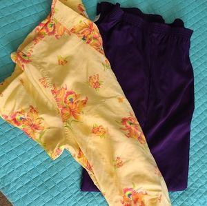 🌺The prettiest Yellow silk shirt EVER!